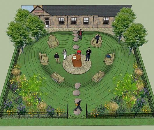 The Sanctuary Nurture Garden