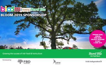Bloom 2019 sponsorship opportunities